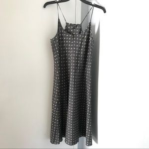 Eileen Fisher Printed Silk Dress